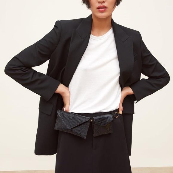 28380c57da Zara Buttoned Oversized Blazer